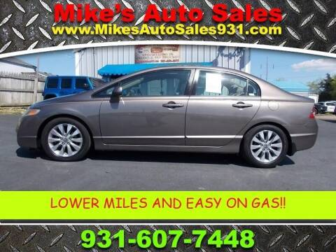 2009 Honda Civic for sale at Mike's Auto Sales in Shelbyville TN