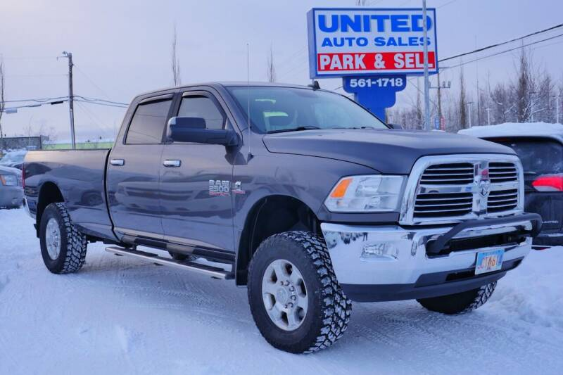 2016 RAM Ram Pickup 2500 for sale at United Auto Sales in Anchorage AK