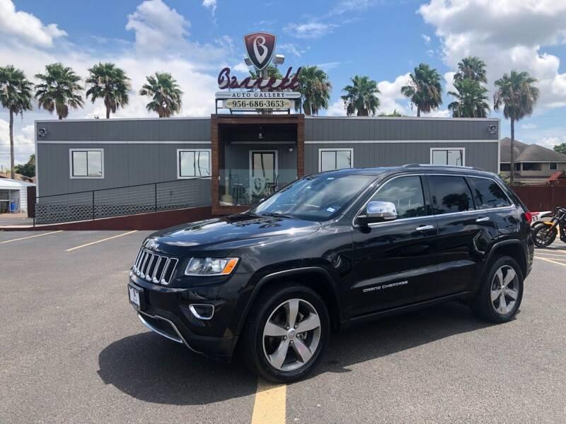2014 Jeep Grand Cherokee for sale at Barrett Auto Gallery in San Juan TX