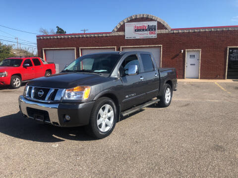 2012 Nissan Titan for sale at Family Auto Finance OKC LLC in Oklahoma City OK