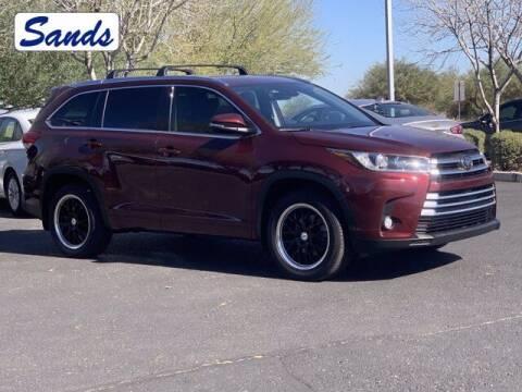 2018 Toyota Highlander for sale at Sands Chevrolet in Surprise AZ