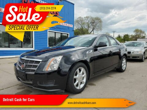 2009 Cadillac CTS for sale at Detroit Cash for Cars in Warren MI