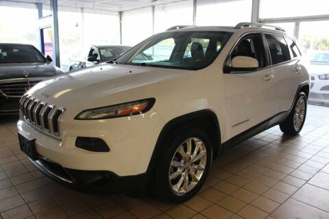 2014 Jeep Cherokee for sale at Flash Auto Sales in Garland TX