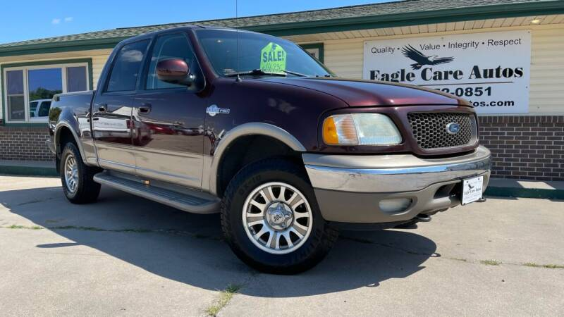 2002 Ford F-150 for sale at Eagle Care Autos in Mcpherson KS