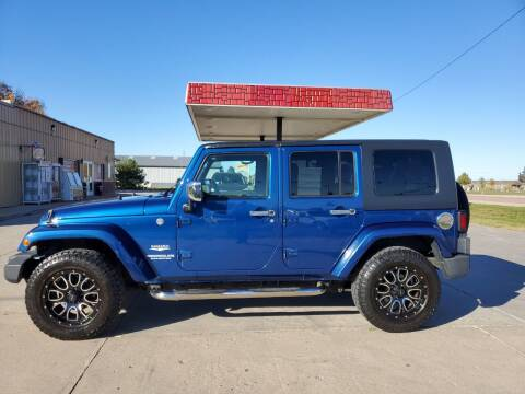 2010 Jeep Wrangler Unlimited for sale at Dakota Auto Inc. in Dakota City NE