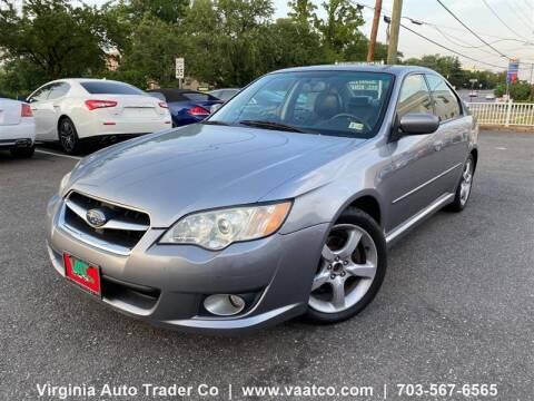 2008 Subaru Legacy for sale at Virginia Auto Trader, Co. in Arlington VA
