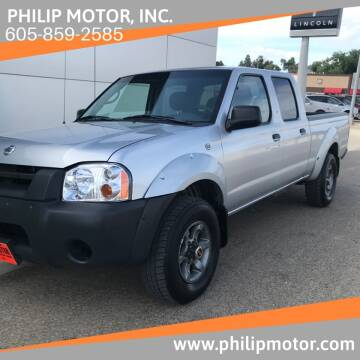 2004 Nissan Frontier for sale at Philip Motor Inc in Philip SD