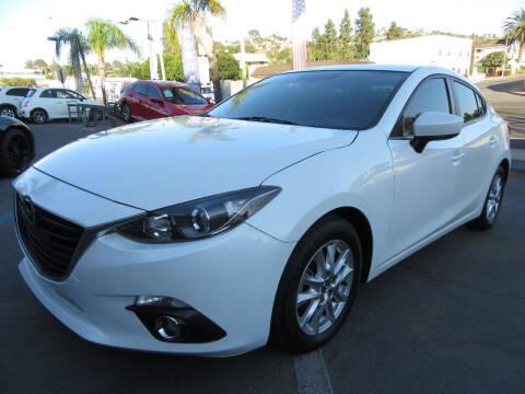 2015 Mazda MAZDA3 for sale at Eagle Auto in La Mesa CA