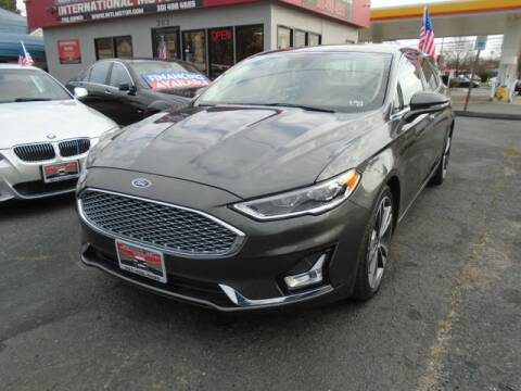 2020 Ford Fusion for sale at International Motors in Laurel MD