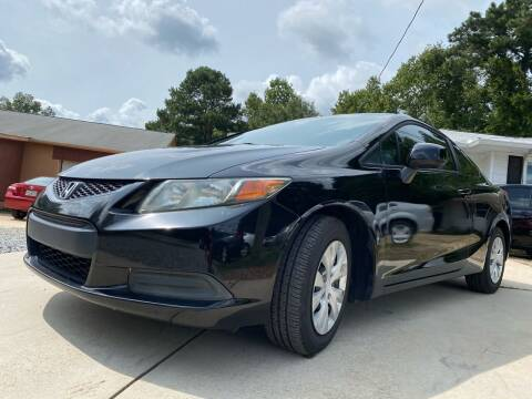 2012 Honda Civic for sale at Efficiency Auto Buyers in Milton GA