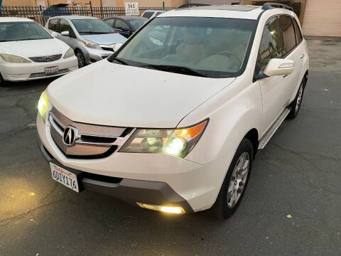 2008 Acura MDX for sale at 101 Auto Sales in Sacramento CA