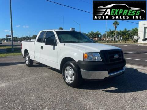 2005 Ford F-150 for sale at A EXPRESS AUTO SALES INC in Tarpon Springs FL