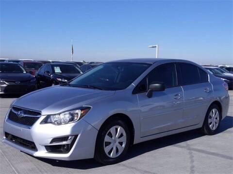 2016 Subaru Impreza for sale at Camelback Volkswagen Subaru in Phoenix AZ