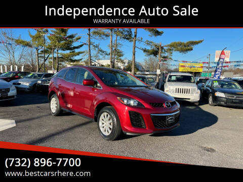 2011 Mazda CX-7 for sale at Independence Auto Sale in Bordentown NJ