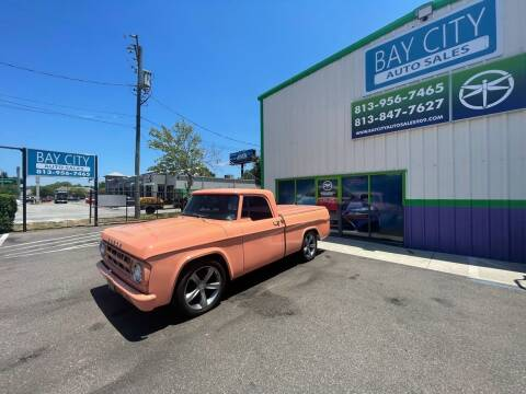 1969 Dodge D100 Pickup for sale at Bay City Autosales in Tampa FL