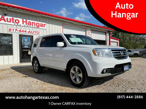 2013 Honda Pilot for sale at Auto Hangar in Azle TX