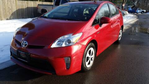 2012 Toyota Prius for sale at ALL Motor Cars LTD in Tillson NY