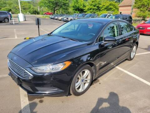 2018 Ford Fusion Hybrid for sale at North Oakland Motors in Waterford MI