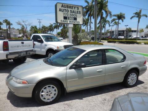 1999 Chrysler Cirrus for sale at Aubrey's Auto Sales in Delray Beach FL