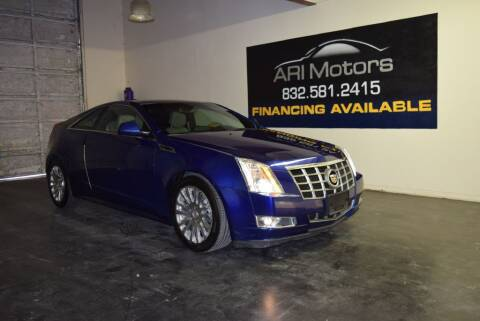 2012 Cadillac CTS for sale at ARI Motors in Houston TX