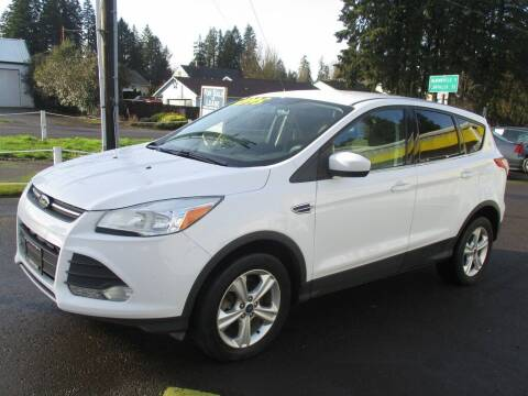 2013 Ford Escape for sale at Yellow Line Motors in Lafayette OR