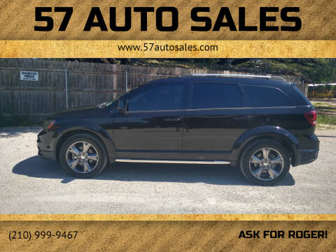 2016 Dodge Journey for sale at 57 Auto Sales in San Antonio TX