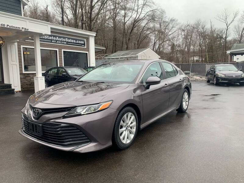 2018 Toyota Camry for sale at Ocean State Auto Sales in Johnston RI