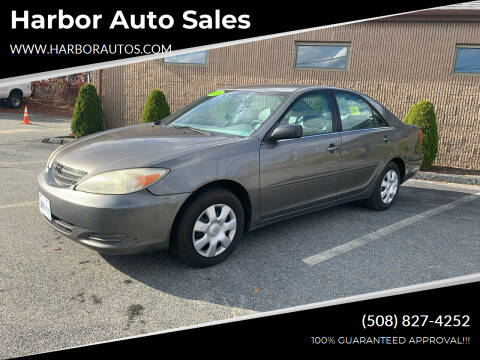 2004 Toyota Camry for sale at Harbor Auto Sales in Hyannis MA