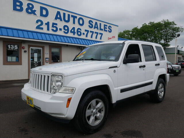 2012 Jeep Liberty for sale at B & D Auto Sales Inc. in Fairless Hills PA