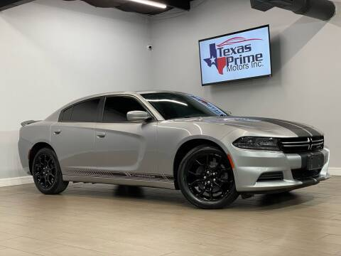 2017 Dodge Charger for sale at Texas Prime Motors in Houston TX