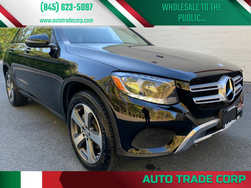 2016 Mercedes-Benz GLC for sale at AUTO TRADE CORP in Nanuet NY