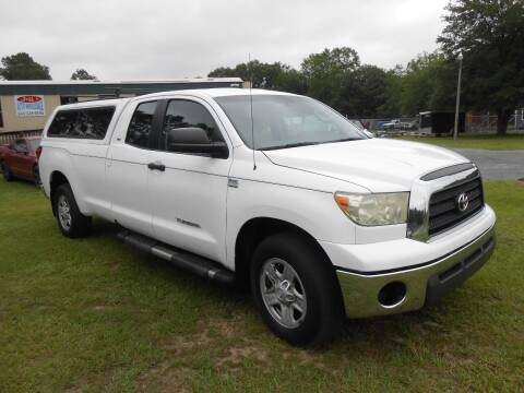 2007 Toyota Tundra for sale at Jeff's Auto Wholesale in Summerville SC
