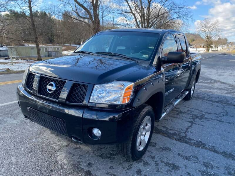 2007 Nissan Titan for sale at THE AUTOMOTIVE CONNECTION in Atkins VA