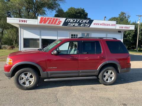 2004 Ford Explorer for sale at Will's Motor Sales in Grandville MI