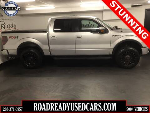 2013 Ford F-150 for sale at Road Ready Used Cars in Ansonia CT