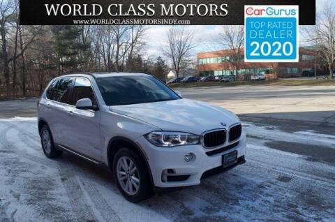 2015 BMW X5 for sale at World Class Motors LLC in Noblesville IN
