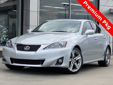 2013 Lexus IS 250 for sale at Carmel Motors in Indianapolis IN