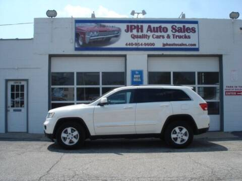 2011 Jeep Grand Cherokee for sale at JPH Auto Sales in Eastlake OH