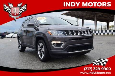 2018 Jeep Compass for sale at Indy Motors Inc in Indianapolis IN