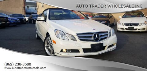 2011 Mercedes-Benz E-Class for sale at Auto Trader Wholesale Inc in Saddle Brook NJ