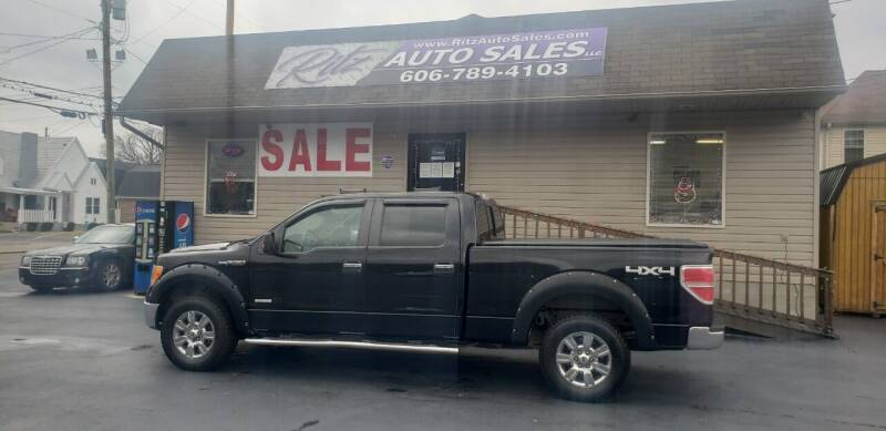 2011 Ford F-150 for sale at Ritz Auto Sales, LLC in Paintsville KY