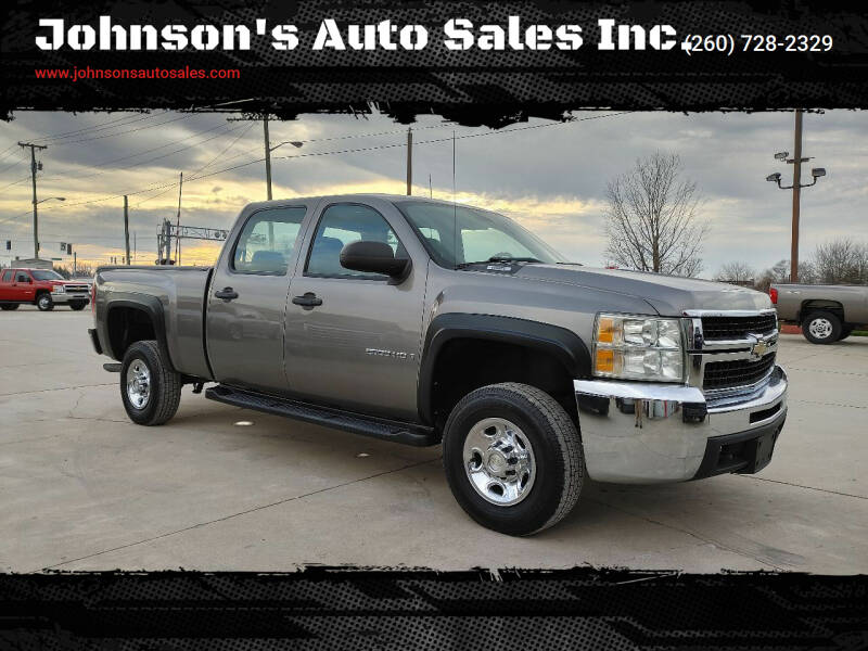 2008 Chevrolet Silverado 2500HD for sale at Johnson's Auto Sales Inc. in Decatur IN