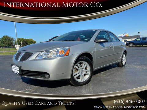 2005 Pontiac G6 for sale at International Motor Co. in St. Charles MO