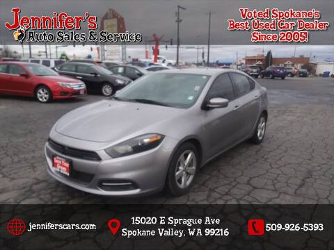 2016 Dodge Dart for sale at Jennifer's Auto Sales in Spokane Valley WA