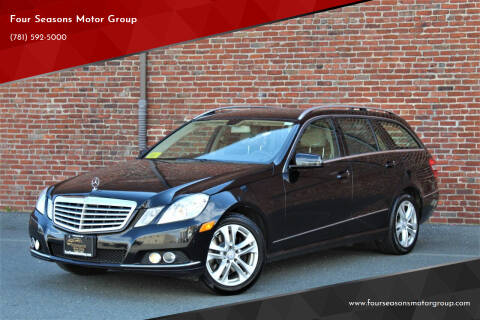 2011 Mercedes-Benz E-Class for sale at Four Seasons Motor Group in Swampscott MA
