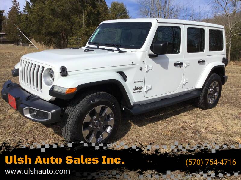 2018 Jeep Wrangler Unlimited for sale at Ulsh Auto Sales Inc. in Summit Station PA