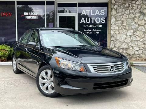 2009 Honda Accord for sale at ATLAS AUTOS in Marietta GA