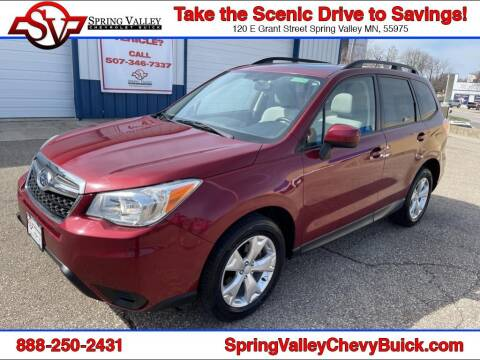 2014 Subaru Forester for sale at Spring Valley Chevrolet Buick in Spring Valley MN