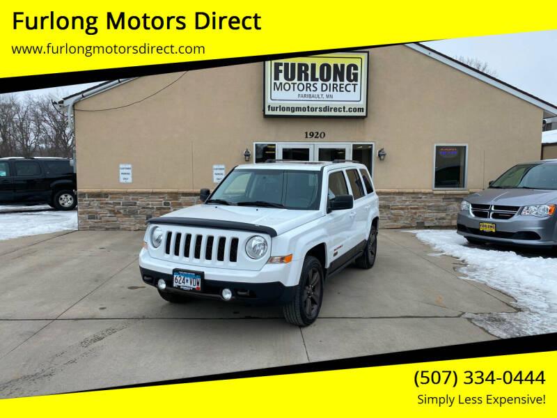 2016 Jeep Patriot for sale at Furlong Motors Direct in Faribault MN