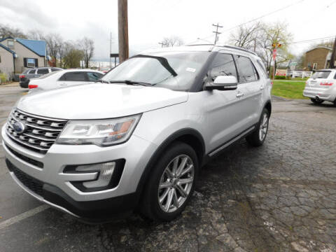2016 Ford Explorer for sale at WOOD MOTOR COMPANY in Madison TN